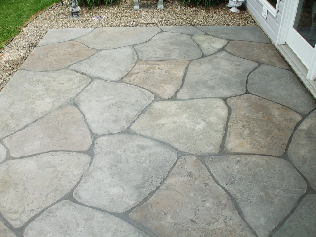 Custom Stamped Concrete Services