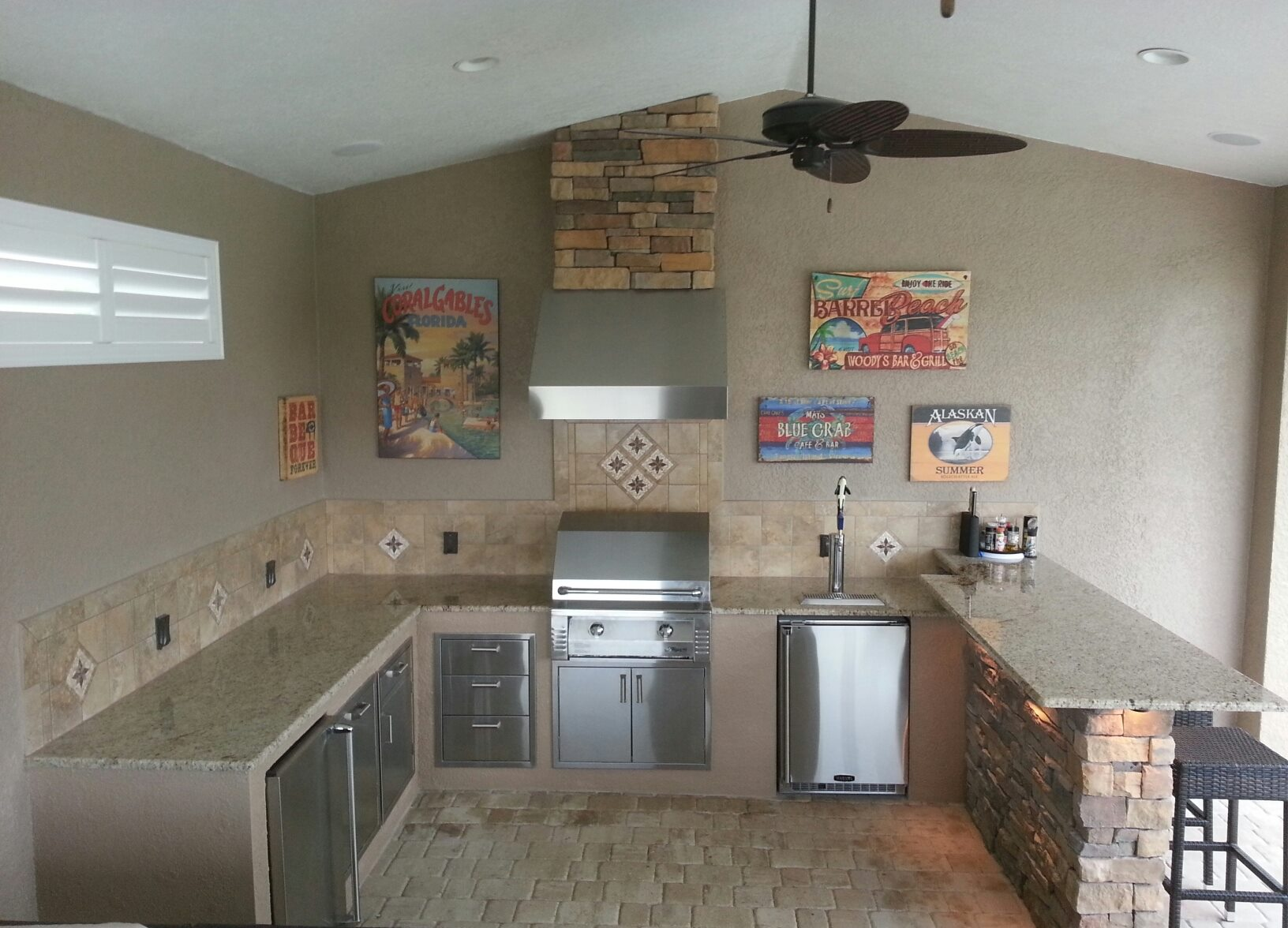 Tampa Custom Acid Stained Concrete