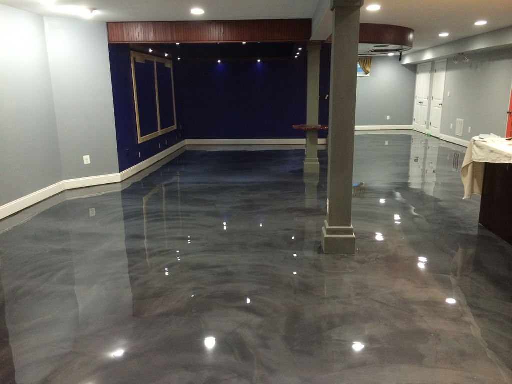 Concrete Metallic Epoxy Tampa