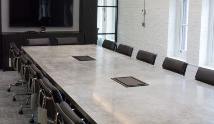 concrete-table-We offer custom concrete solutions including Polished concrete, Stained concrete, Epoxy Floor, Sealed concrete, Stamped concrete, Concrete overlay, Concrete countertops, Concrete summer kitchens, Driveway repairs, Concrete pool water falls, and more.